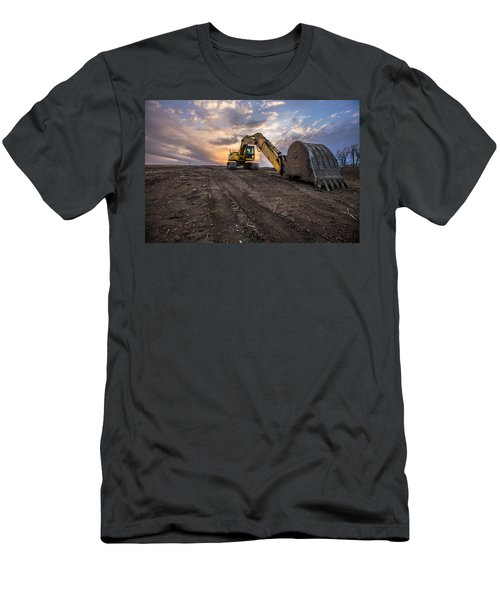 Excavator Men's T-Shirt (Athletic Fit)