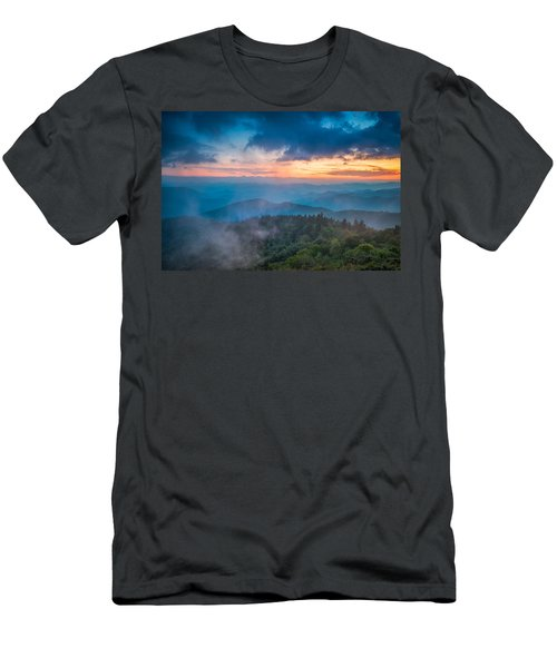 Men's T-Shirt (Athletic Fit) featuring the photograph Exhale by Joye Ardyn Durham