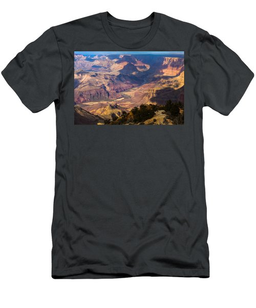 Expanse At Desert View Men's T-Shirt (Athletic Fit)