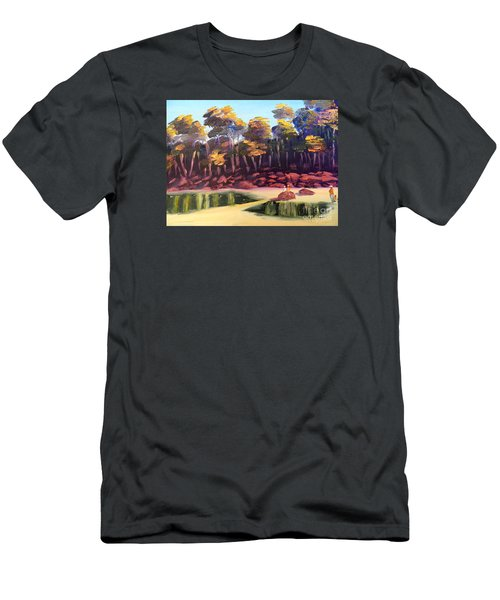 Exploring On Echo Beach Men's T-Shirt (Athletic Fit)