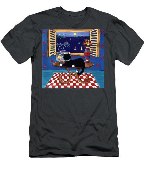 Eye On Lunch Men's T-Shirt (Slim Fit) by Lance Headlee
