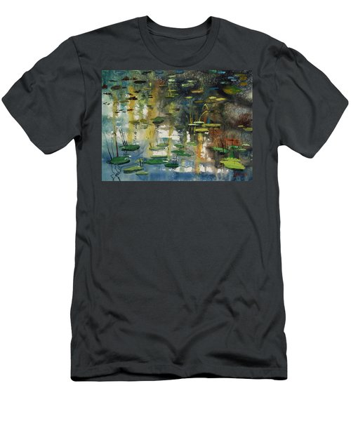 Faces In The Pond Men's T-Shirt (Athletic Fit)