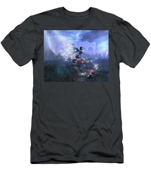 Faerie Men's T-Shirt (Slim Fit) by David Mckinney