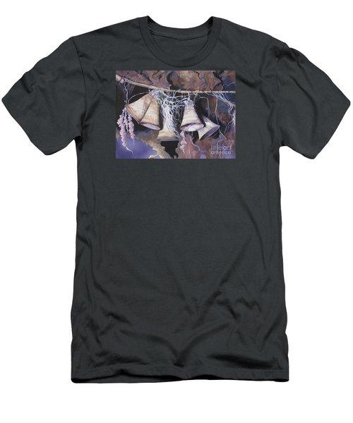 Fairy Bells Men's T-Shirt (Slim Fit) by Vivien Rhyan