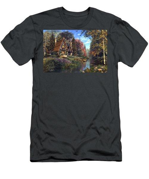 Fairytale Cottage Men's T-Shirt (Athletic Fit)