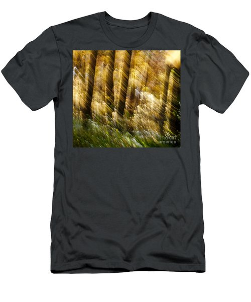 Fall Abstract Men's T-Shirt (Athletic Fit)
