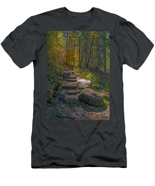 West Fork At Oak Creek Men's T-Shirt (Athletic Fit)