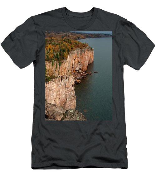 Fall Colors Adorn Palisade Head Men's T-Shirt (Athletic Fit)