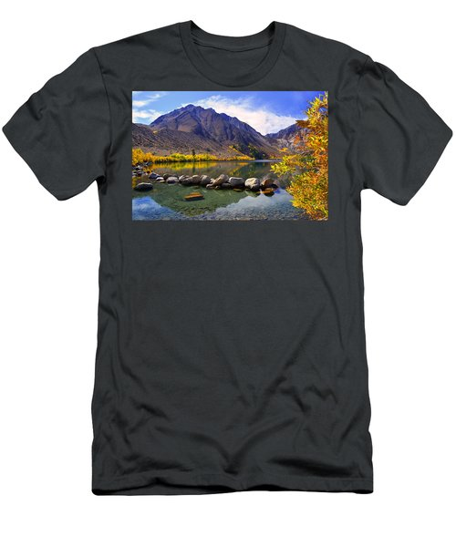 Fall Colors At Convict Lake  Men's T-Shirt (Athletic Fit)