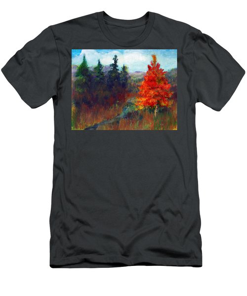 Fall Day Men's T-Shirt (Slim Fit) by C Sitton