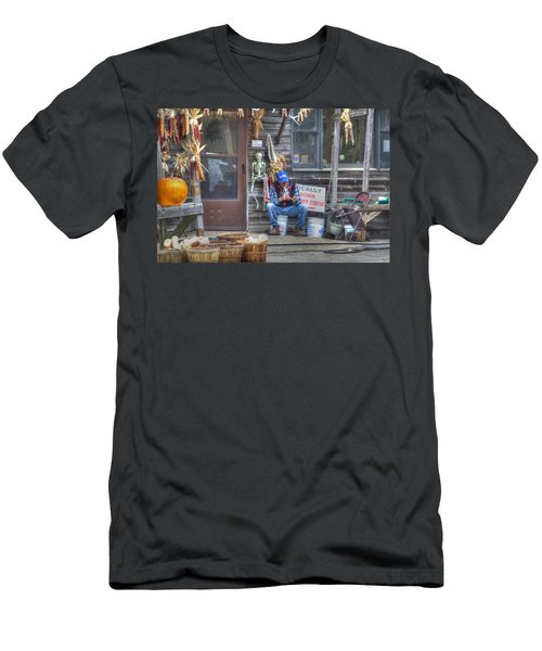 Fall Farmer's Market Men's T-Shirt (Athletic Fit)