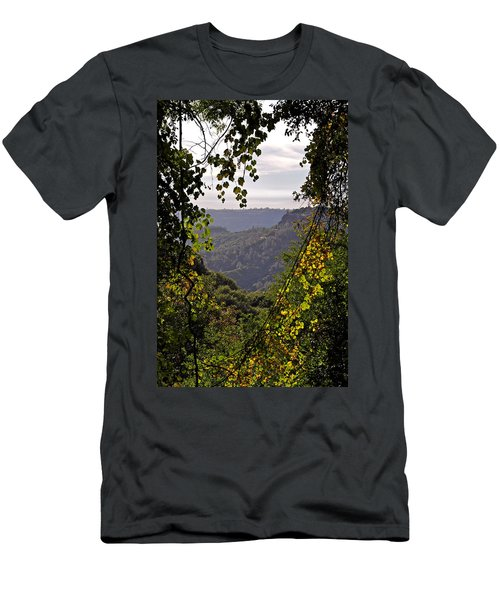 Fall Frames The Canyon Men's T-Shirt (Athletic Fit)