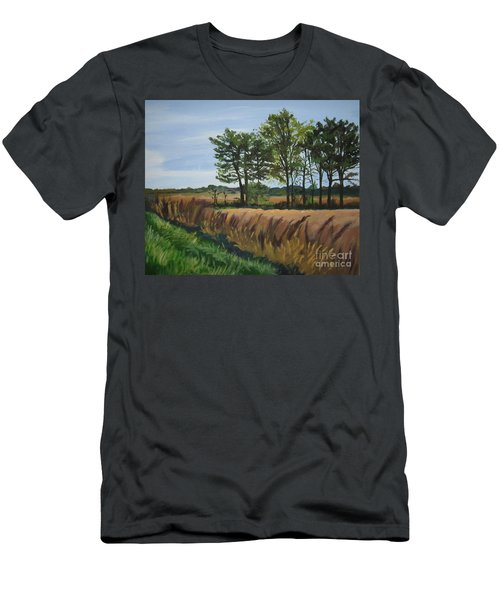 Fall On Douglas Road Men's T-Shirt (Athletic Fit)