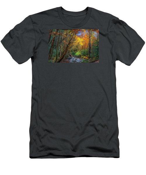 Fall Solitude Men's T-Shirt (Athletic Fit)