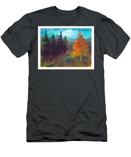 Fall View Men's T-Shirt (Slim Fit) by C Sitton