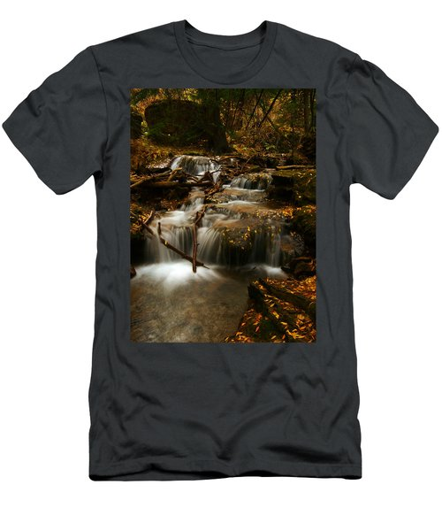 Fall With Grace Men's T-Shirt (Athletic Fit)