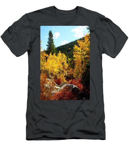 Fall2 Men's T-Shirt (Athletic Fit)