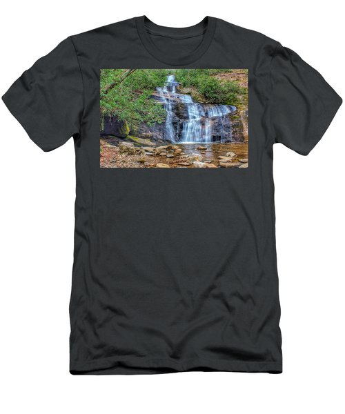Falling From Mount Mitchell Men's T-Shirt (Athletic Fit)