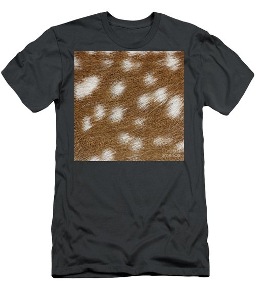 Fallow Deer Fur Men's T-Shirt (Athletic Fit)