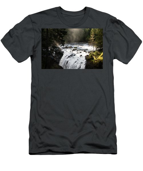 Waterfall Magic Men's T-Shirt (Athletic Fit)