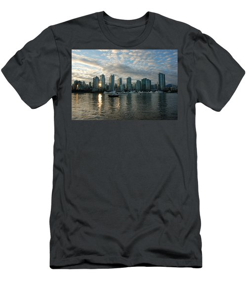 False Creek Sunset Men's T-Shirt (Athletic Fit)