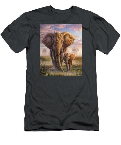 Family Stroll Men's T-Shirt (Athletic Fit)