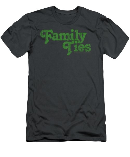 Family Ties - Logo Men's T-Shirt (Athletic Fit)