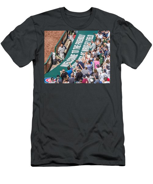 Farewell From The Wrigley Faithful Men's T-Shirt (Athletic Fit)