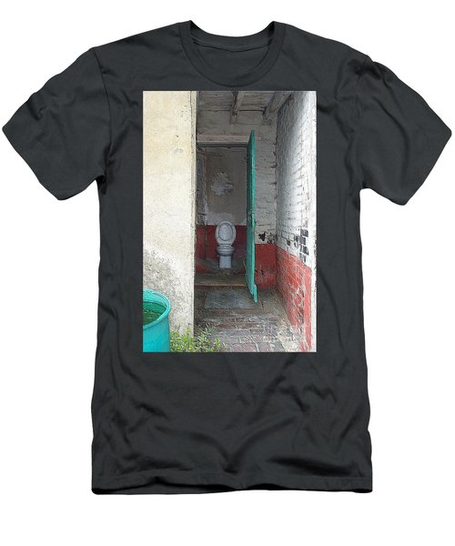 Farm Facilities Men's T-Shirt (Slim Fit) by HEVi FineArt