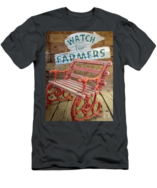 Farmer Bench Men's T-Shirt (Athletic Fit)