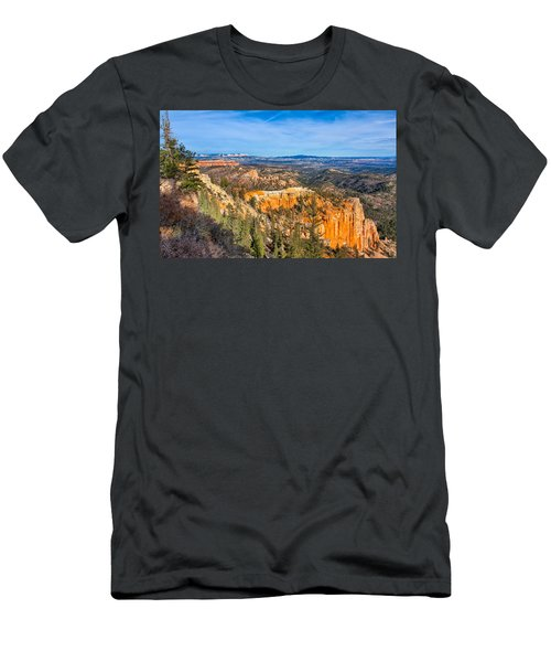 Men's T-Shirt (Athletic Fit) featuring the photograph Farview Point Tableau by John M Bailey