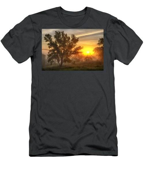 Father's Day Sunrise Men's T-Shirt (Athletic Fit)