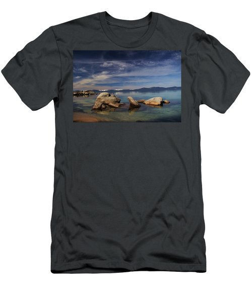 Fatman In A Bathtub Men's T-Shirt (Athletic Fit)