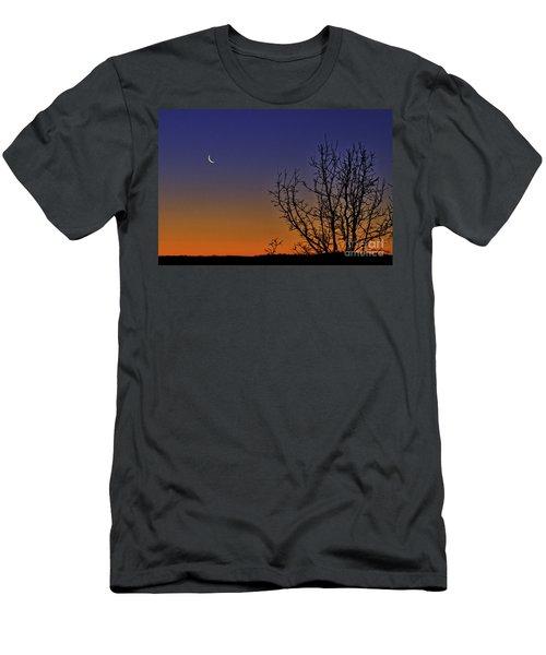 Favorite Moon Men's T-Shirt (Athletic Fit)