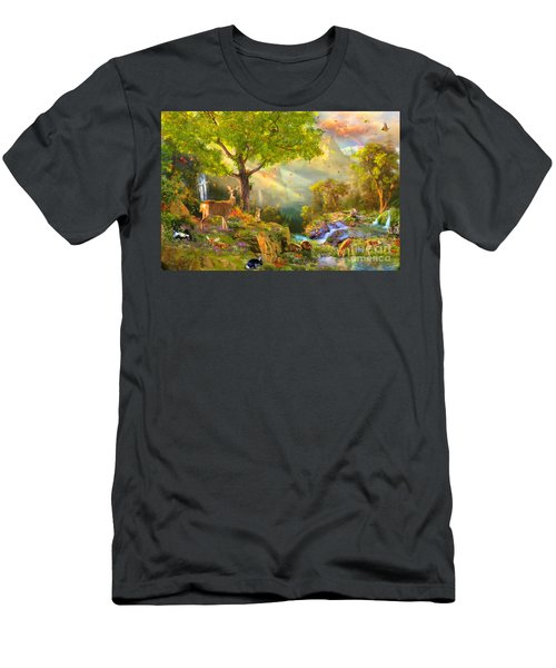 Fawn Mountain Men's T-Shirt (Athletic Fit)