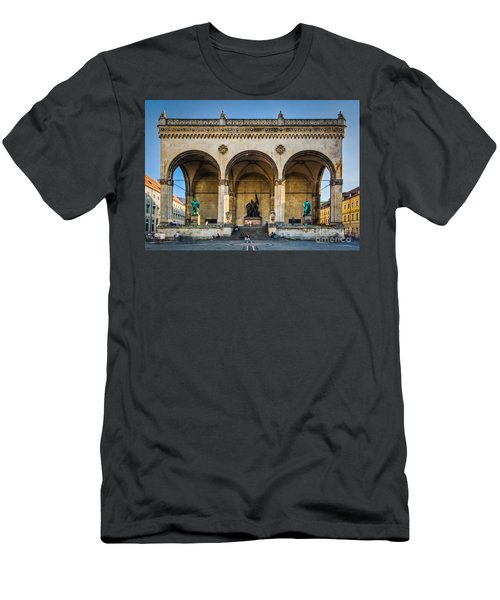 Men's T-Shirt (Athletic Fit) featuring the photograph Feldherrnhalle by John Wadleigh