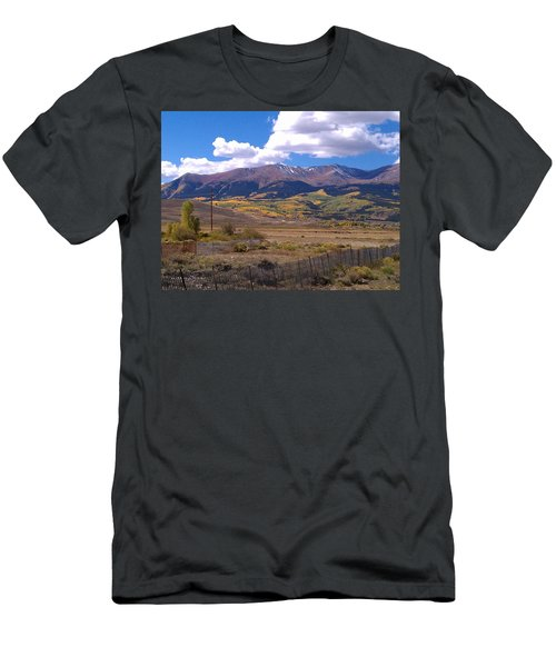 Fenced Nature Men's T-Shirt (Athletic Fit)