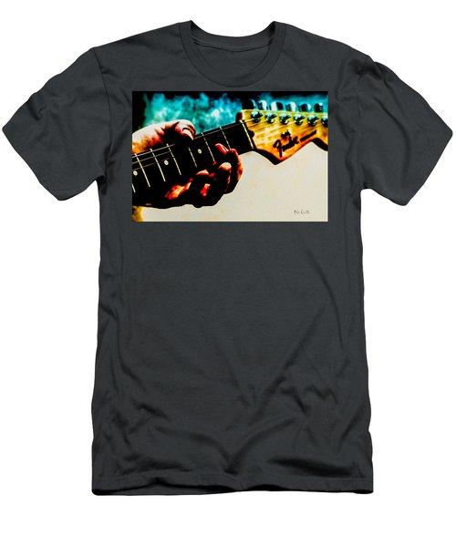 Fender Strat Men's T-Shirt (Athletic Fit)