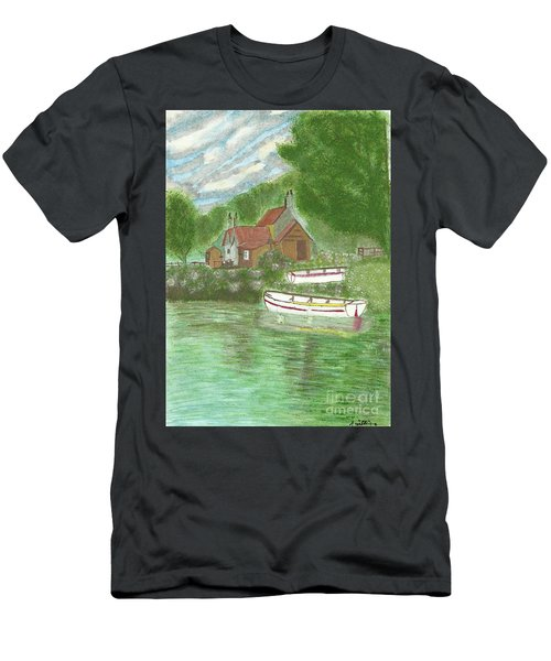 Ferryman's Cottage Men's T-Shirt (Athletic Fit)