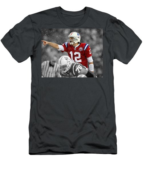 Field General Tom Brady  Men's T-Shirt (Athletic Fit)