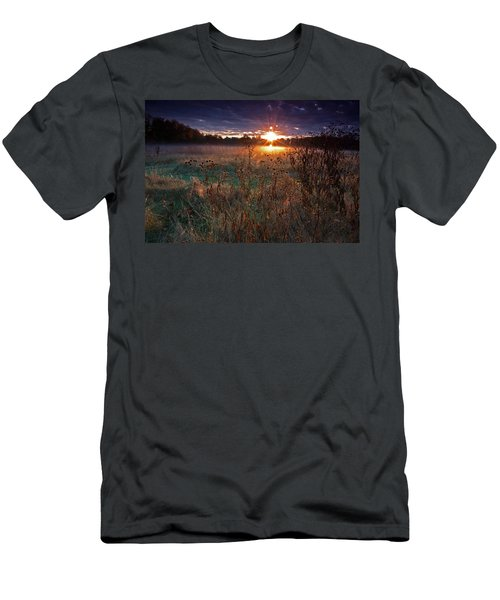Field Of Dreams Men's T-Shirt (Slim Fit) by Suzanne Stout