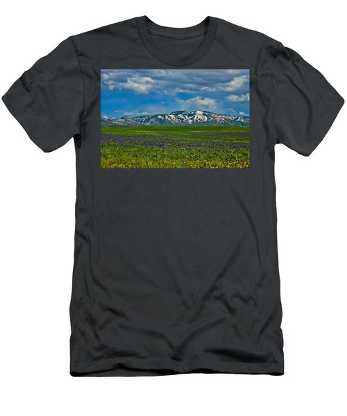 Field Of Wildflowers Men's T-Shirt (Athletic Fit)