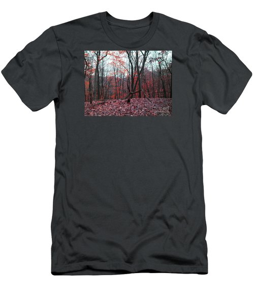 Fire In The Woodland Men's T-Shirt (Athletic Fit)