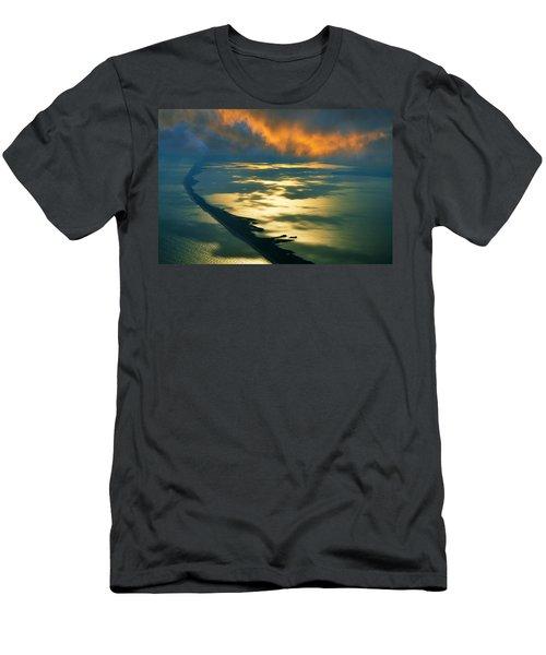 Fire Island Men's T-Shirt (Athletic Fit)
