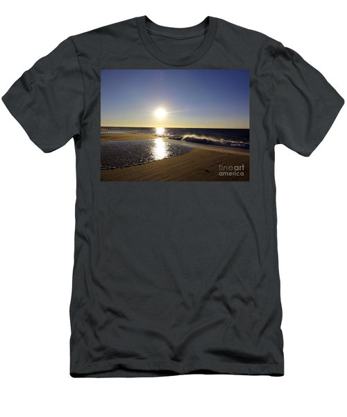 Fire Island Sunday Morning - 13 Men's T-Shirt (Athletic Fit)