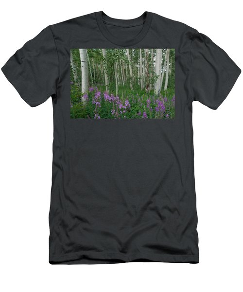 Fireweed And Aspen Men's T-Shirt (Athletic Fit)