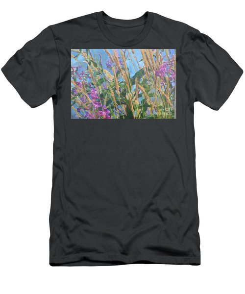 Men's T-Shirt (Slim Fit) featuring the photograph Fireweed Number Six by Brian Boyle