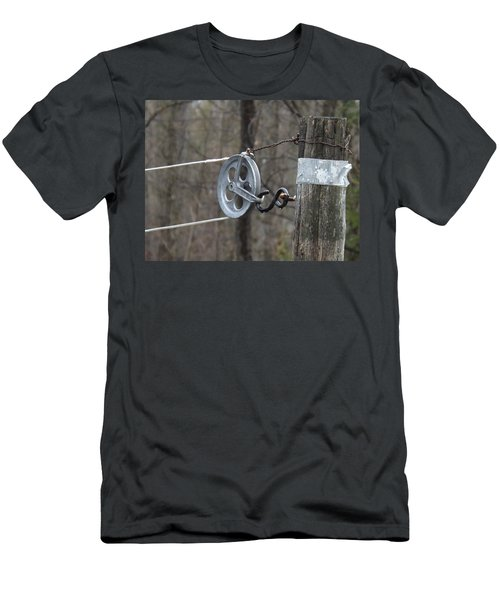 First Automatic Dryer Men's T-Shirt (Slim Fit) by Brenda Brown