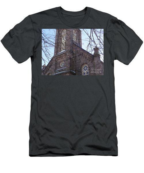 First Baptist Church Men's T-Shirt (Athletic Fit)