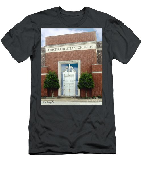 First Christian Church Men's T-Shirt (Athletic Fit)